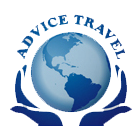 Logo Advice Travel sur fond blanc